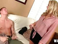 Awesome Milf And Her Step Son Get Horny 1