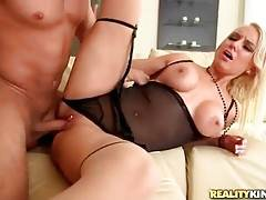 This adorable milf is fond of getting thoroughly fucked.