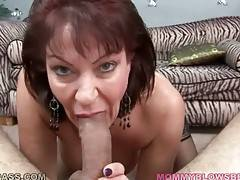 Big boobed lady Vanessa Videl wraps her lips around juicy dick.