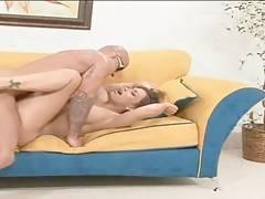 Sexy Claudia Valentine greatly enjoys good hard pounding.