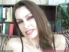 Hot shaped mature slut Nora Noir is fond of good hard fucking.