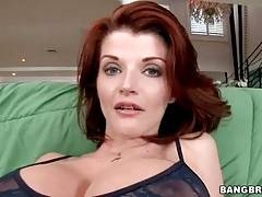 Adorable Milf Slurps Partner`s Thick Boner 1
