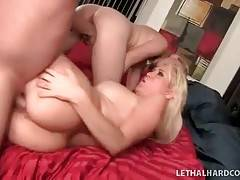 Turned on dude thoroughly fucks awesome milf and her daughter.