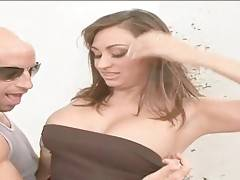 Milf Claudia Valentine is very ready to show all her charms.